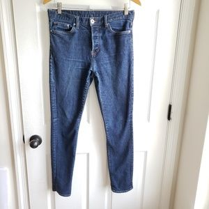 H&M denim 31 Button Fly Skinny Jeans